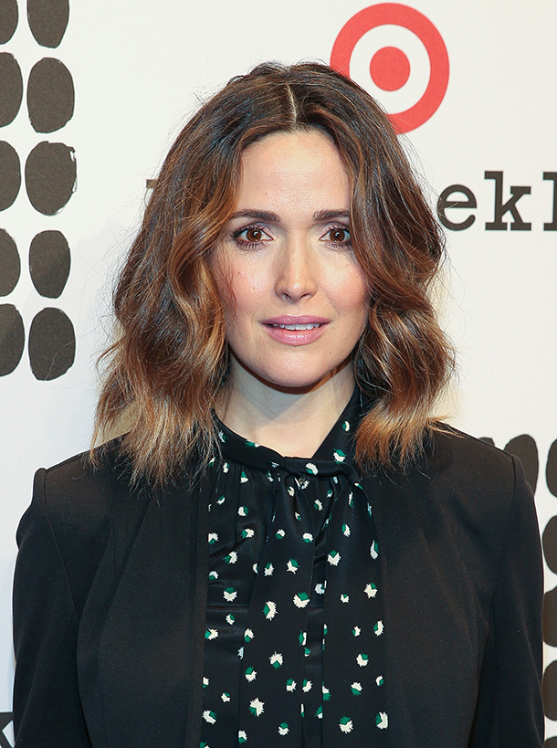 Rose Byrne waves